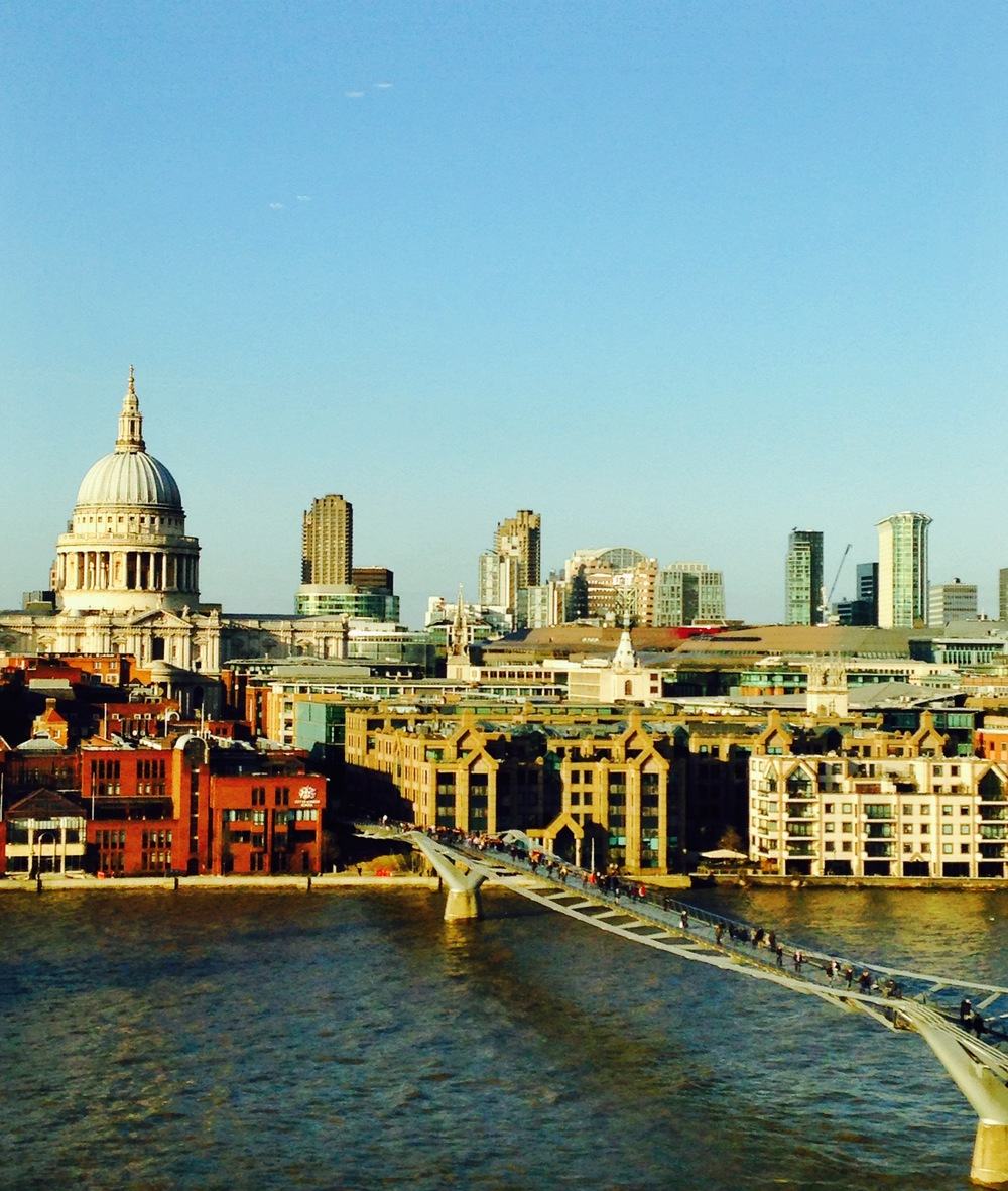 Another view of St. Paul's Cathedral from Tate Modern