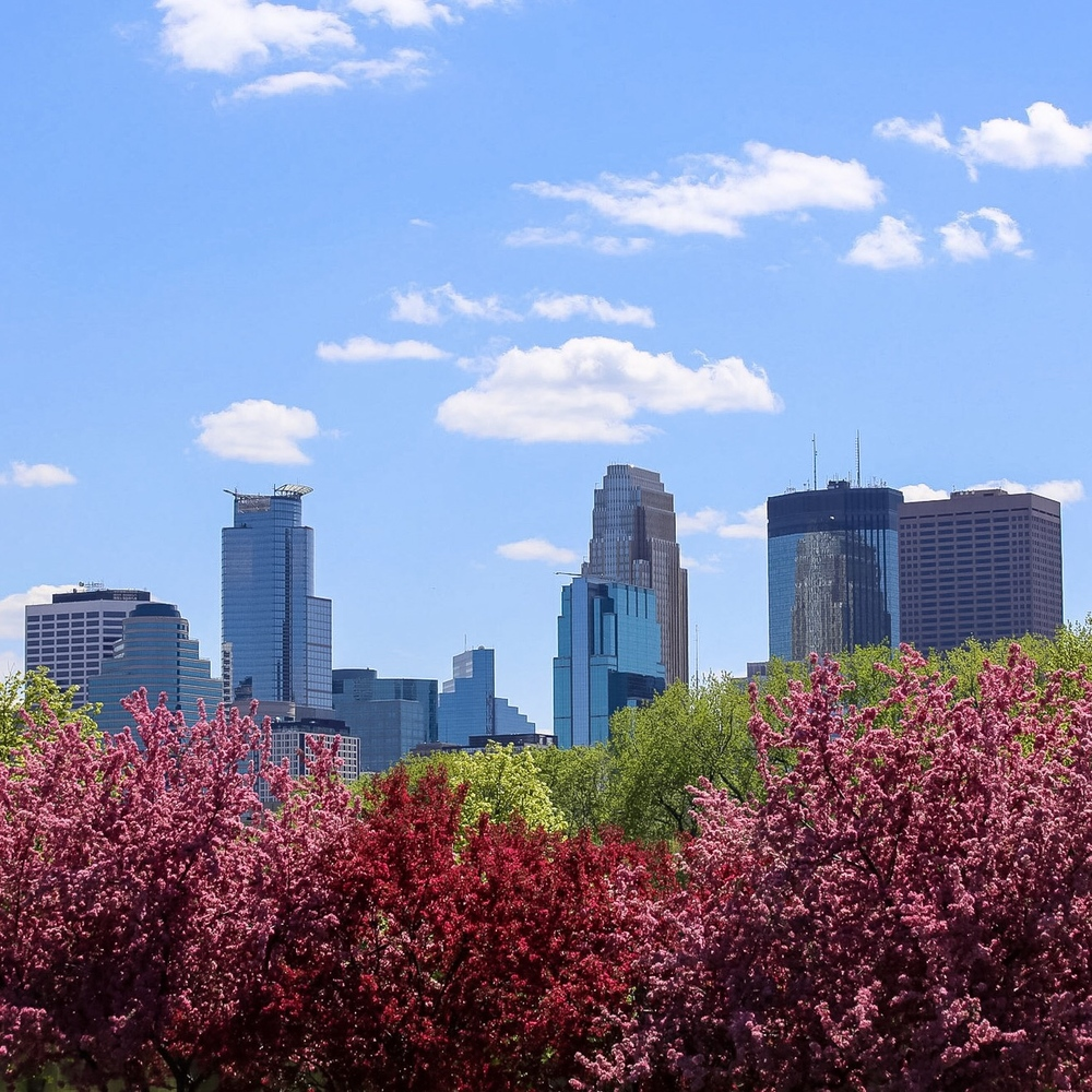 Spring in Minneapolis