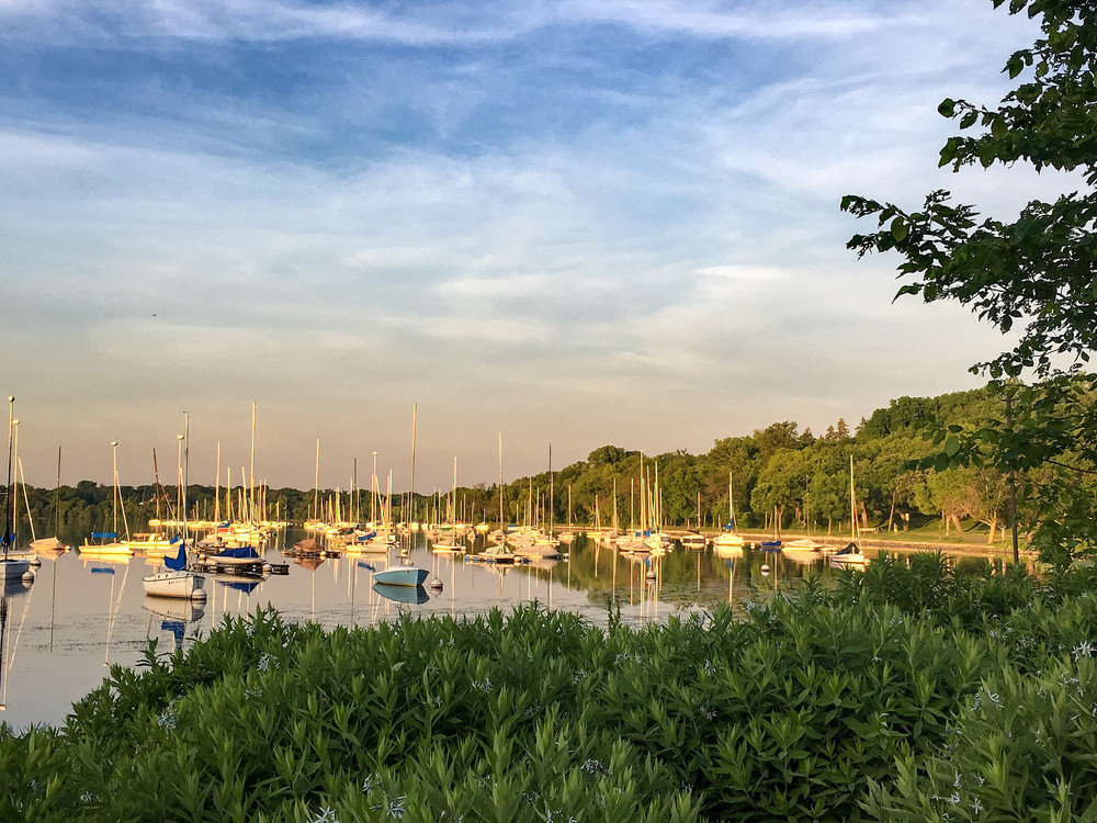 Summer on Lake Harriet