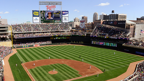 Target Field, home of the Minnesota Twins Image Credit