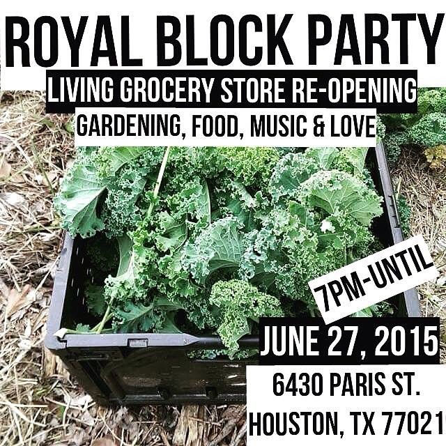 TONIGHT! #RoyalBlockParty