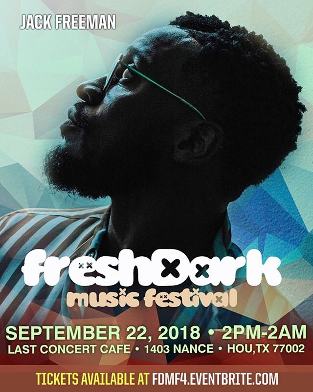 @iamjackfreeman the Crooner! Live at @freshdarkfest #FDMF4 Link in bio l!