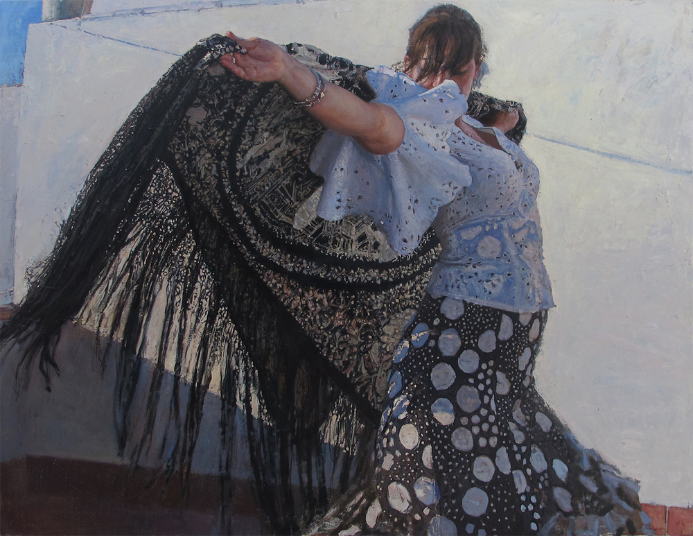 Oil on Linen / 35 in x 45.5 in / Available Finalist in the Figurative category, Art Renewal Salon 2014-2015