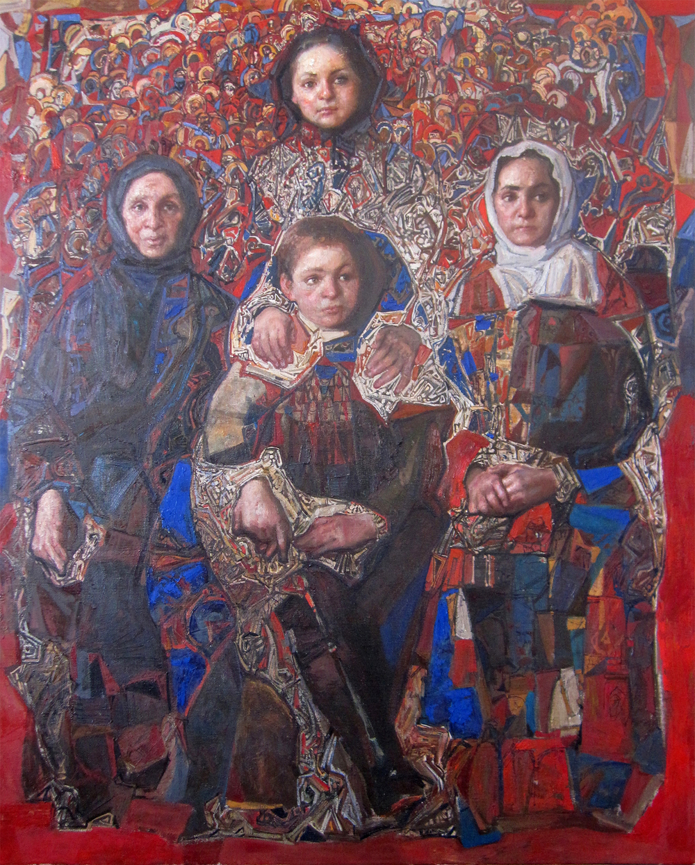Oil on Linen /39 in x 31.9 in
