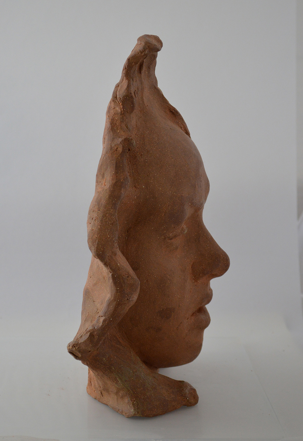 High-fire Clay / 11 in x 9 in / Collection of the Artist's Wife