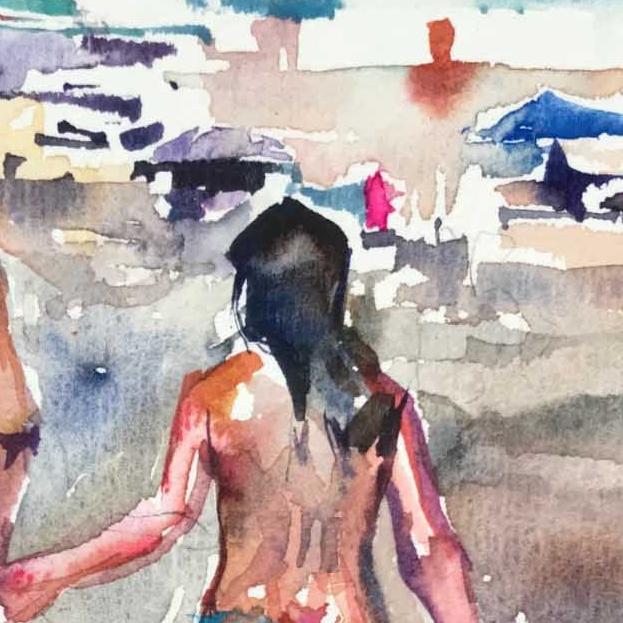 Beach Series V
