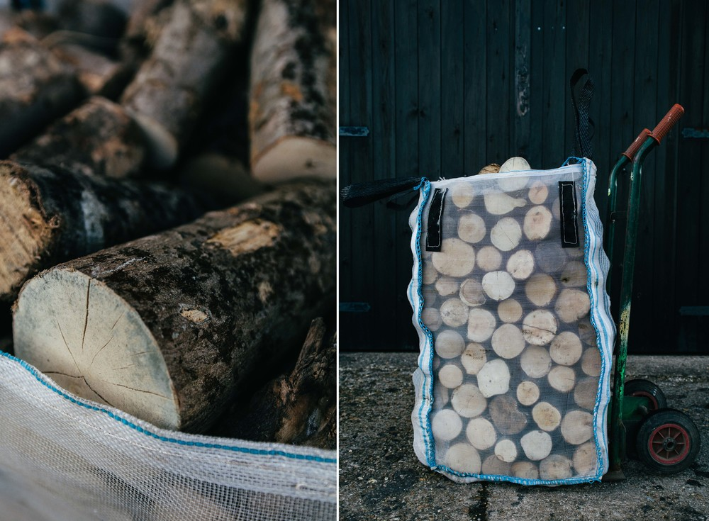 "SACK BARROW  (48cm x 48cm x 90cm)   Price for logs 8""/ 20cm long & split     Order Size Unit Price    Any £45"