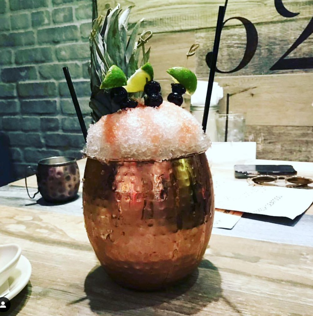 tricky fish copper mug moscow mule