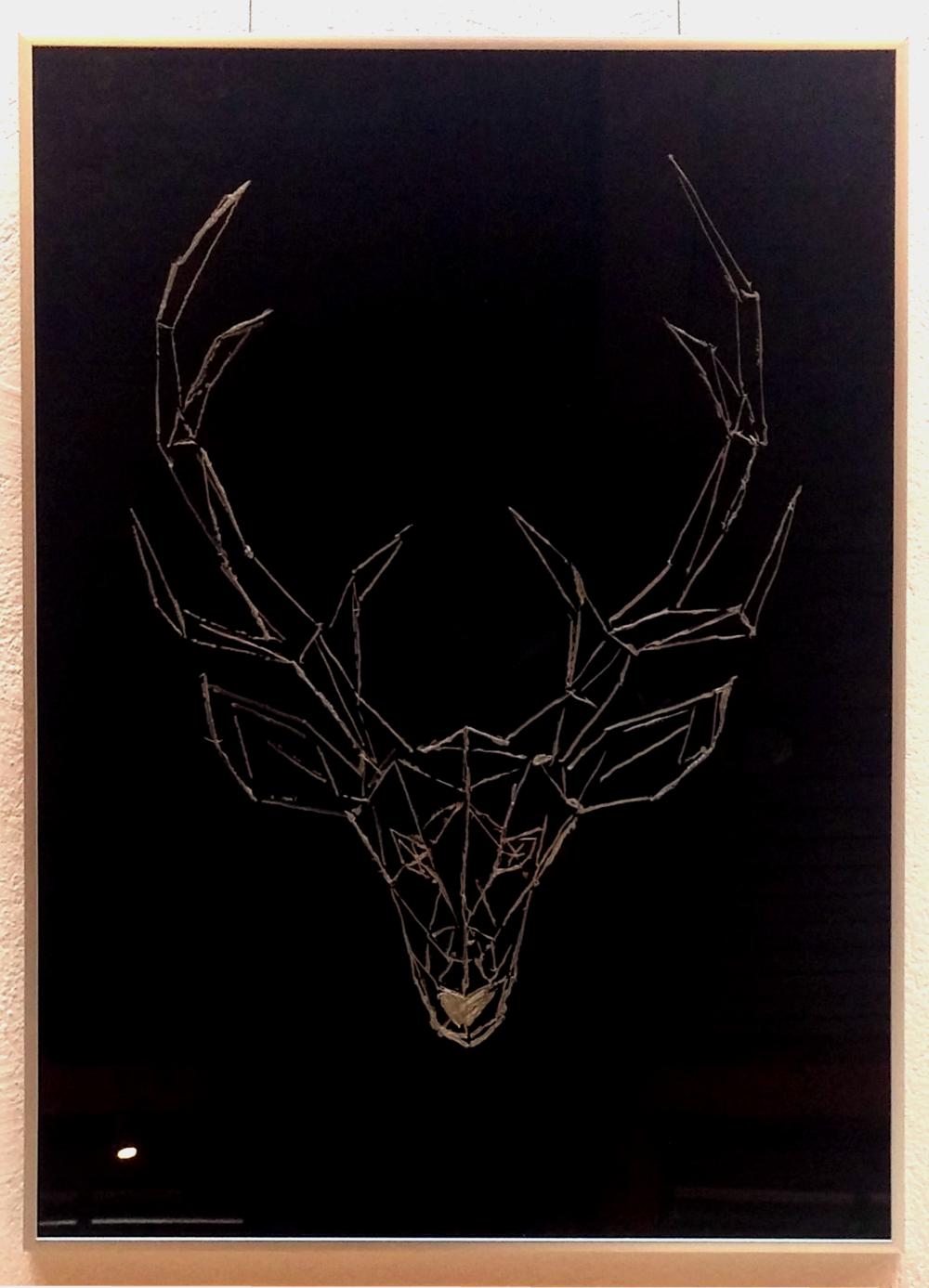 akril, 50 x 70 cm farost