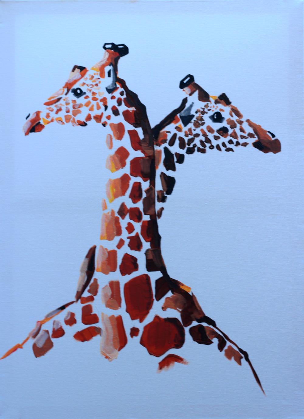 akril, 50 x 70 cm vászon