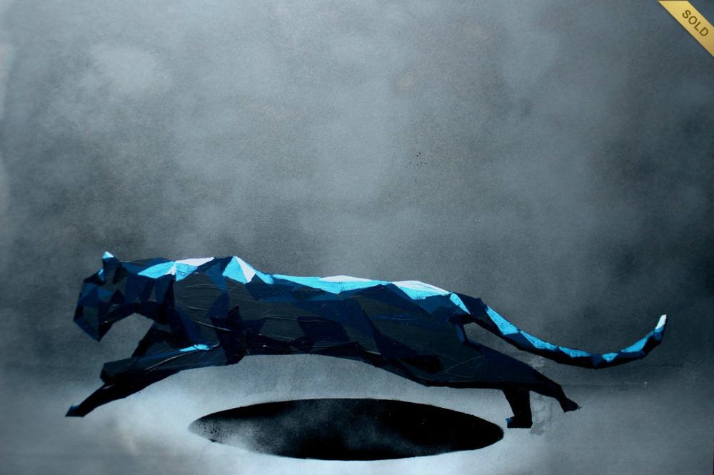 akril, 70 x 50 cm farost
