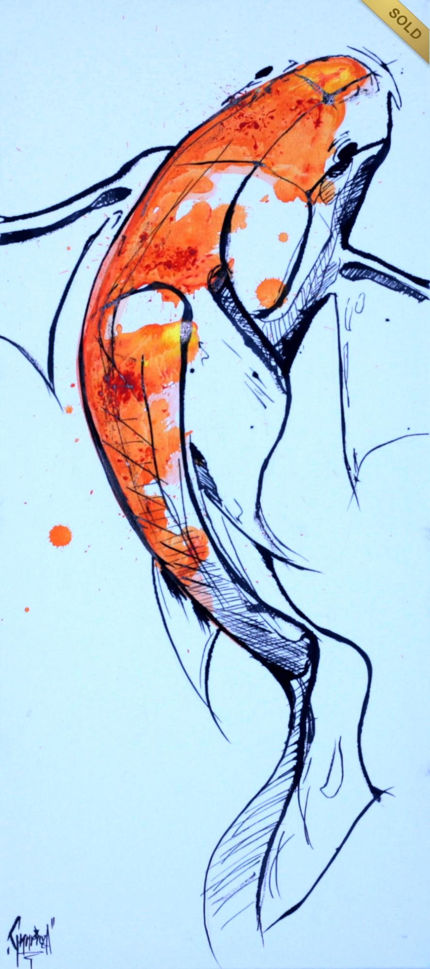 Akril, 30x70 cm vászon