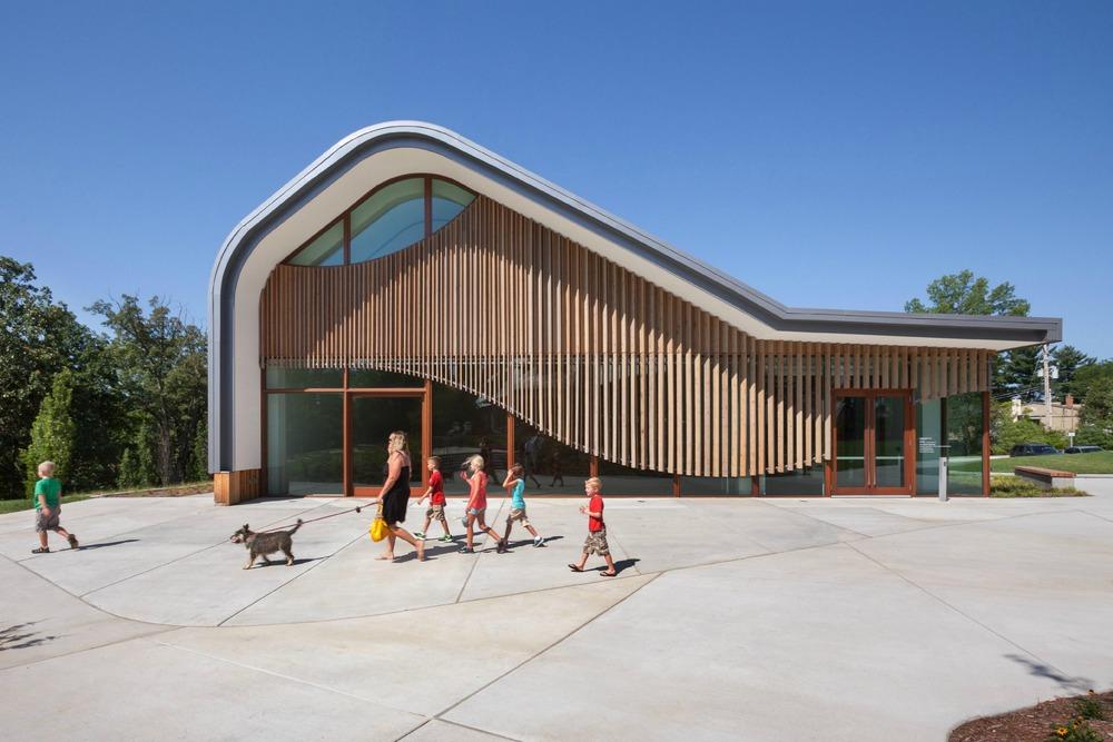Adam Aronson Fine Arts Center; Photo by Sam Fentress