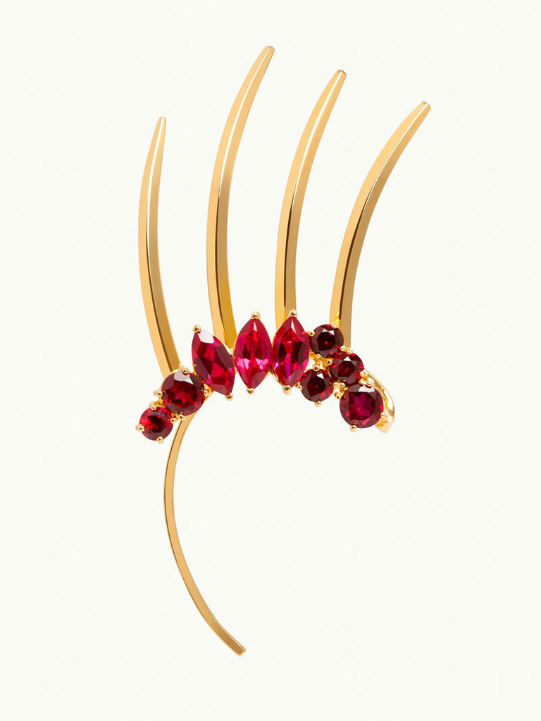 Isadora Spiked Ear Cuff