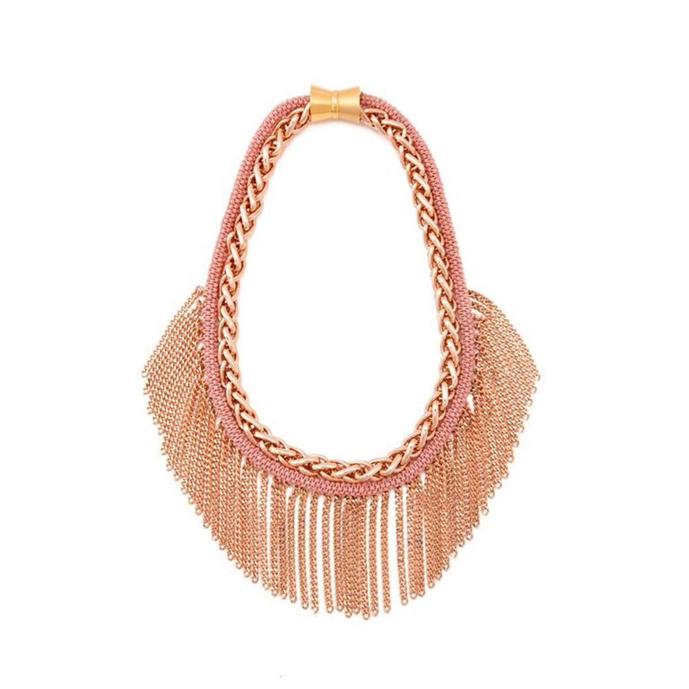 Maasai Fringe Collar