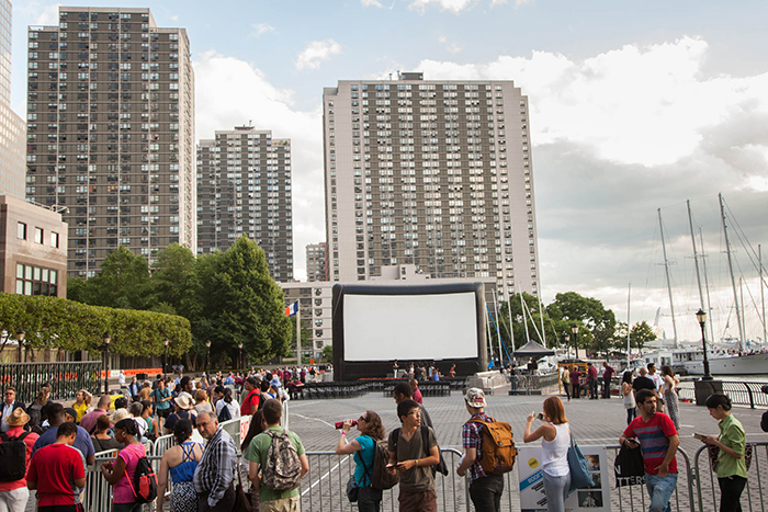 ABP Opening Night will take place on July 28th at the waterfront plaza on Brookfield Place (230 Vesey Street, NY NY 10281) ground level, along the water between West Street and the Hudson River Financial District. In the event of rain, the screening will be indoors at the same location.