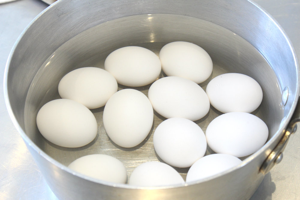 Natural easter egg dyes bcs our tried and true way to make hard boiled eggs fill water to one inch above the highest egg and bring to a rolling boil turn heat off and cover pot for ccuart Choice Image