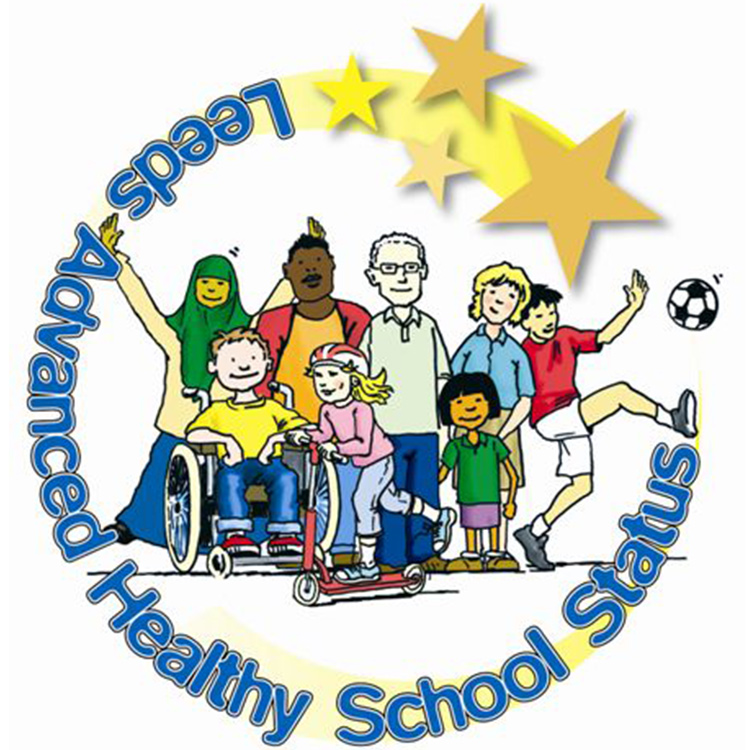 Leeds Advanced Healthy Schools Status logo