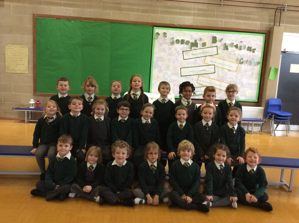 Year 1 St George's class