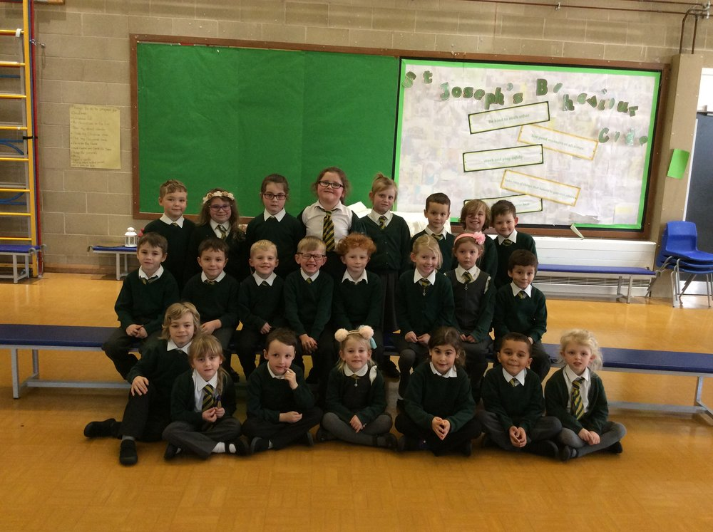 Year 1 St Peter's class