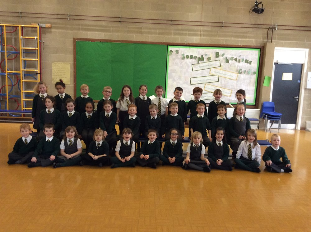 Year 2 St Andrew's class