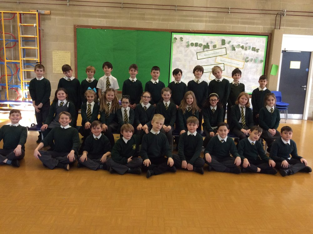 Year 5 St Margaret's class