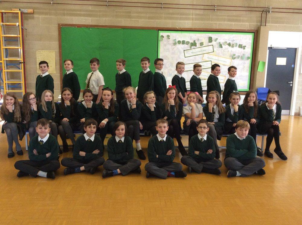 Year 6 St Paul's class