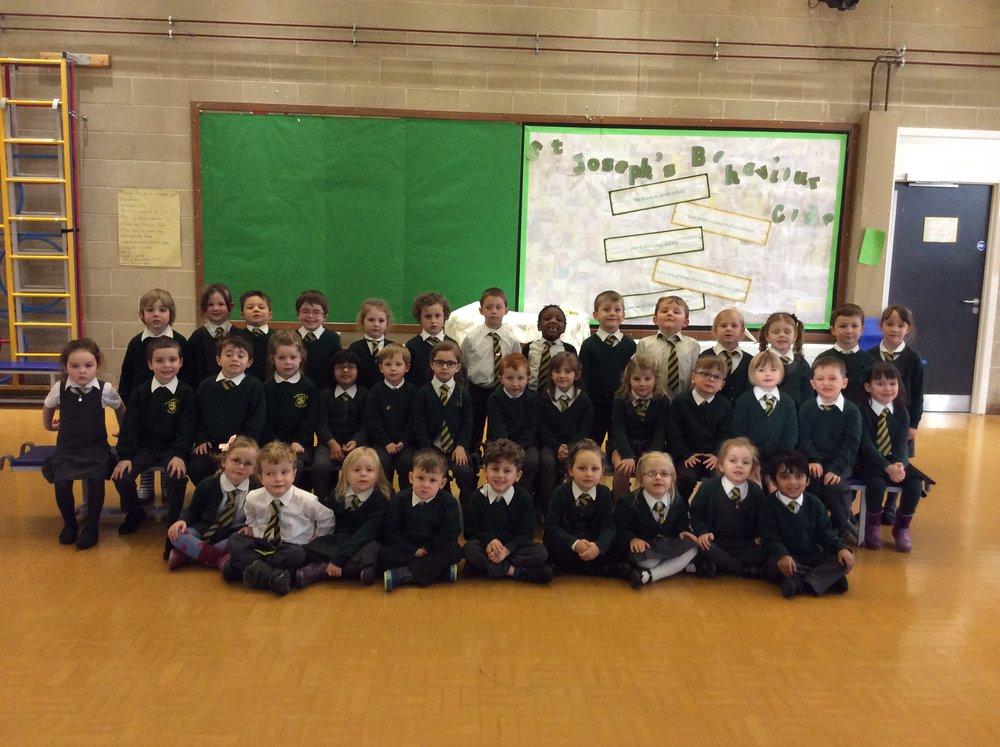 Reception St Patrick's class