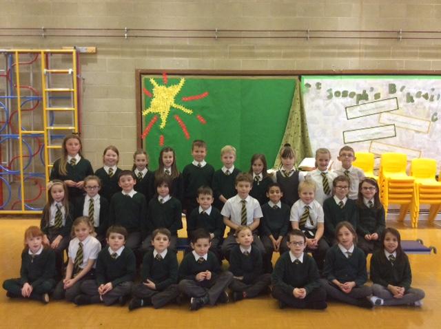 Year 3 St Bernadette's class