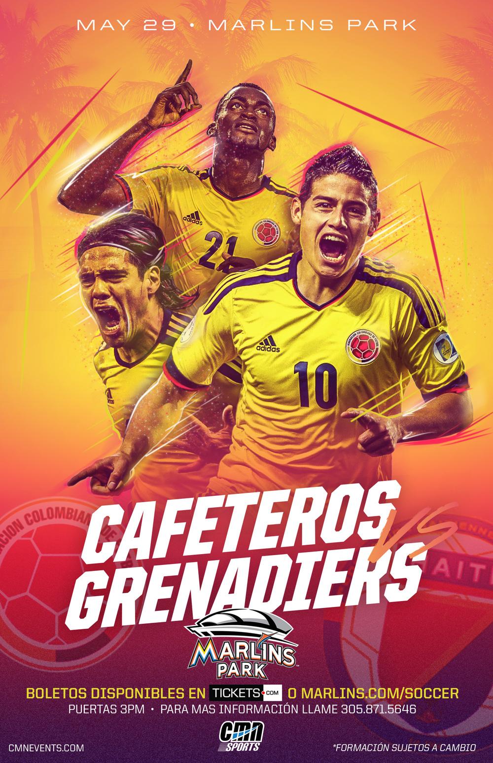 Los Cafeteros Poster
