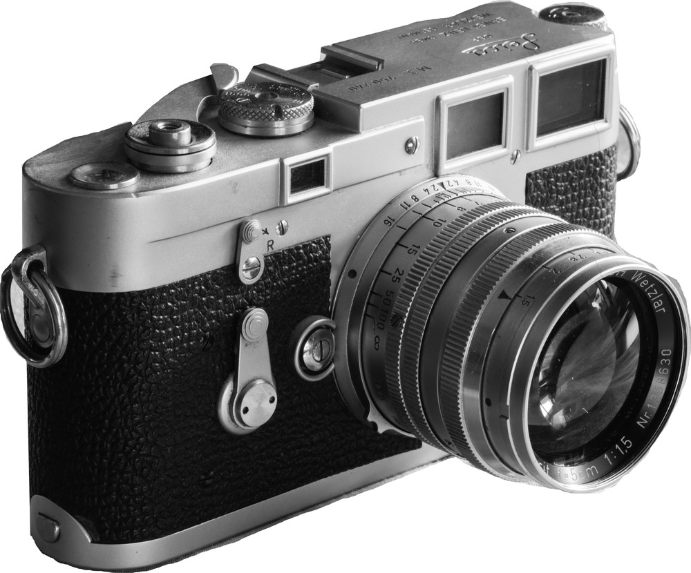 Trusty old Leica