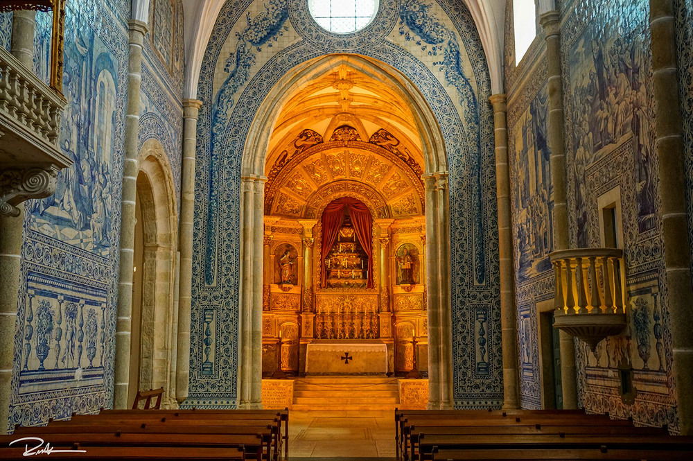Amazing The Walls Of The Church Are Completely Covered In The Iconic Portuguese  Blue Tiles And Quickly Became One Of Our Favorite Churches In Portugal. Nice Ideas