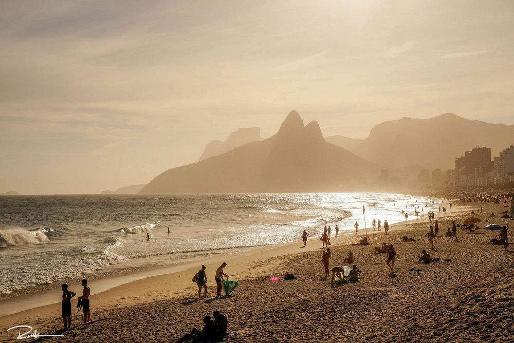Ipanema and Leblon Beach