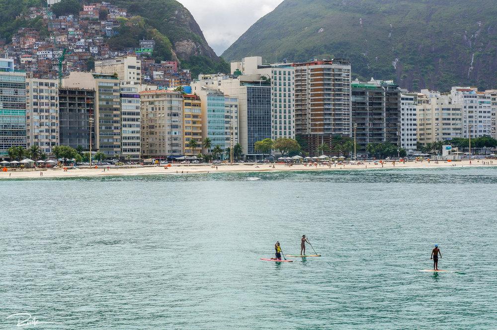 Copacabana from Forte de Copacabana