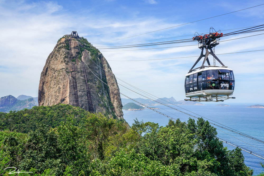 An inside view of Sugar Loaf