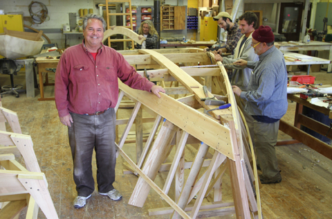Photo Credit:CFCC Boat Building and Boat Manufacturing
