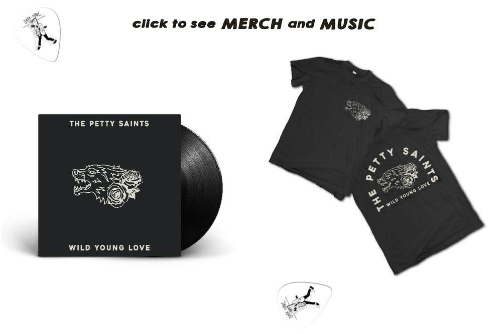 buy merch and music