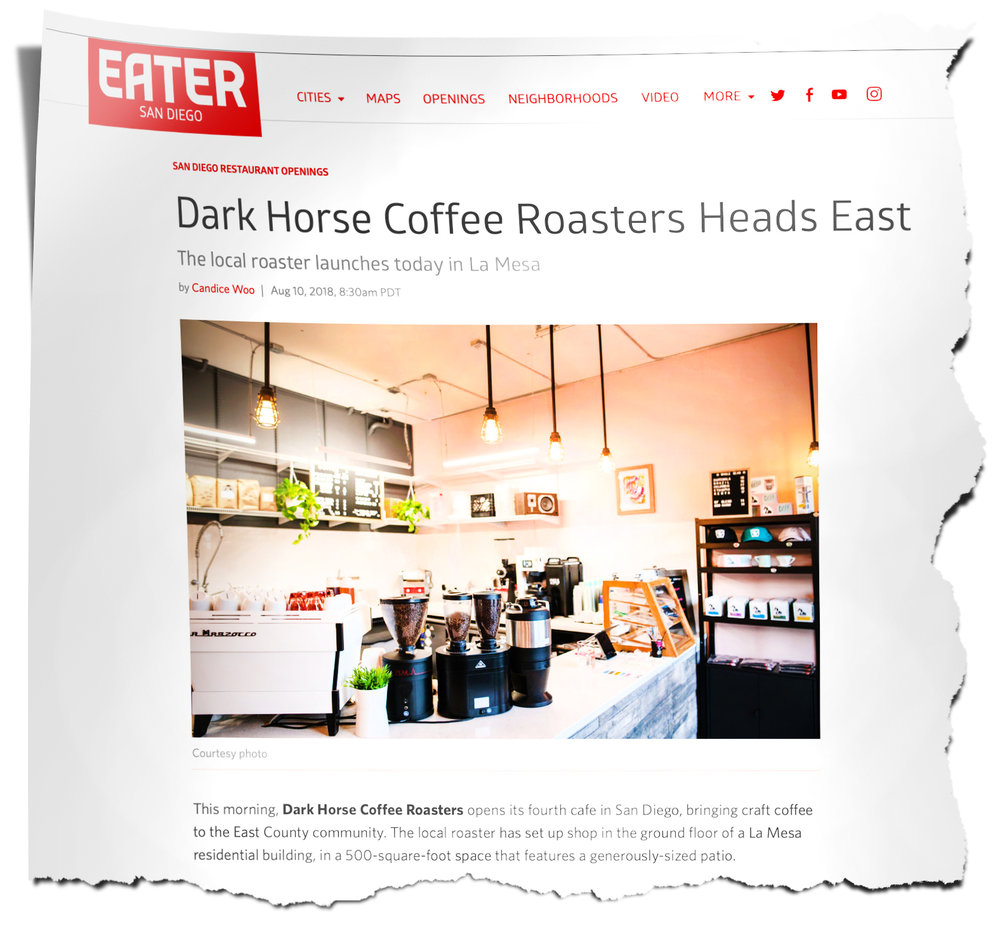 Dark Horse featured in Eater article
