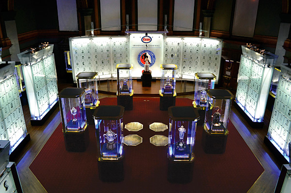 image from the The Official Site of the Hockey Hall of Fame - Esso Great Hall home to the Stanley Cup