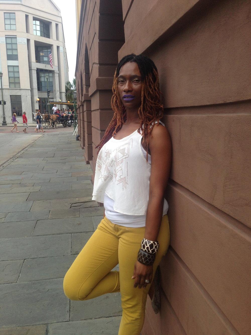 Sheinata Carn-Hall Owner/African Art Jewelry & Clothes Designer @reflectionsafricanjewelryllc