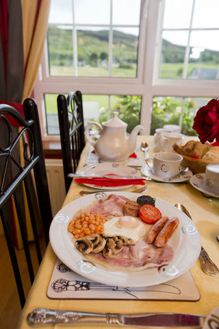 Full Irish Breakfast at Gort na Mona B&B- County Donegal