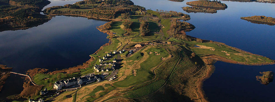 Ariel View of Course (Credit: Lough Erne Resort)