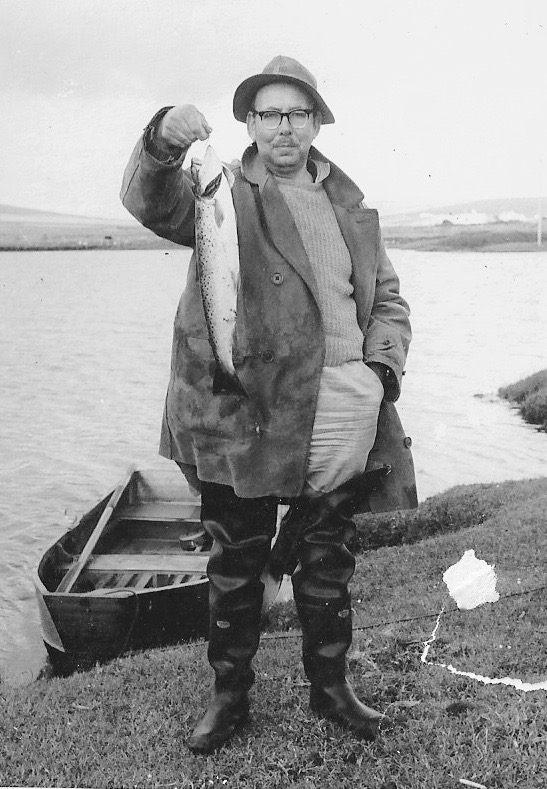 Great Uncle- Martin McKinney - The family fisherman!