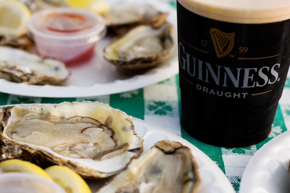 Guinness & oysters. By  minwoo .