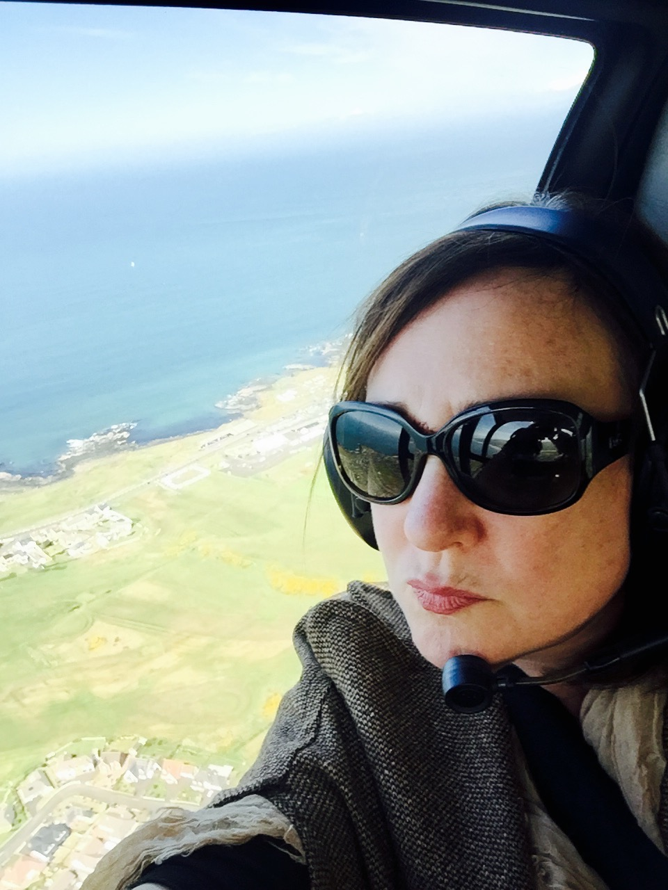 Helicopter Tour of the amazing Causeway Coast - 2016