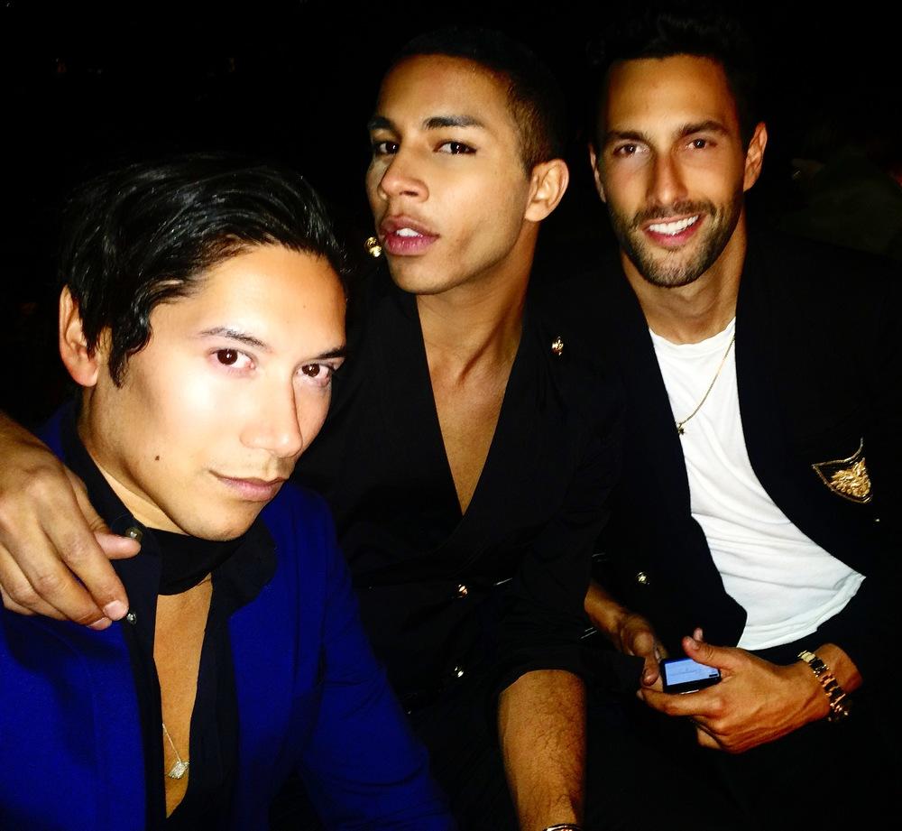 Carlos Eric Lopez, Olivier Rousting & Noah Mills