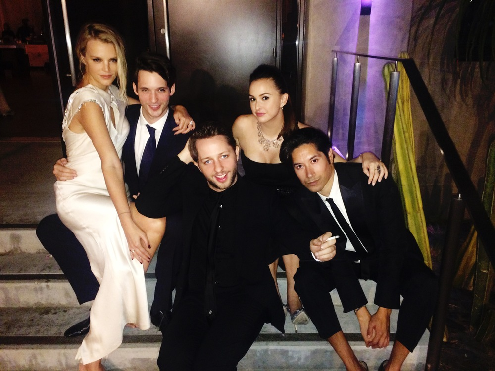 Kelly Sawyer-Patricoff, Nick Brown, Derek Blasberg, Hilary Tisch & Carlos Eric Lopez