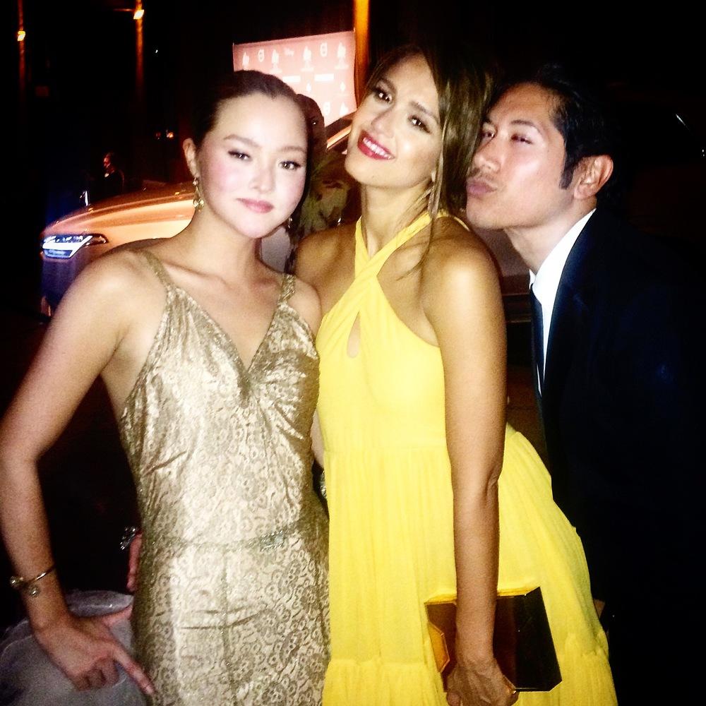 Devon Aoki, Jessica Alba & Carlos Eric Lopez