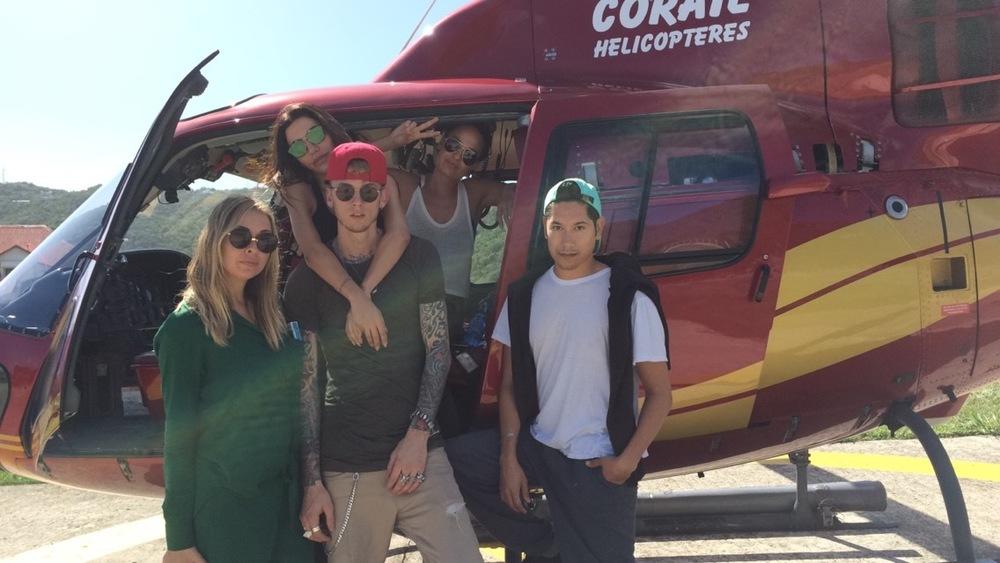 Masha Gordon, Machine Gun Kelly, Hedi, Chloe Bartoli & Carlos Eric Lopez