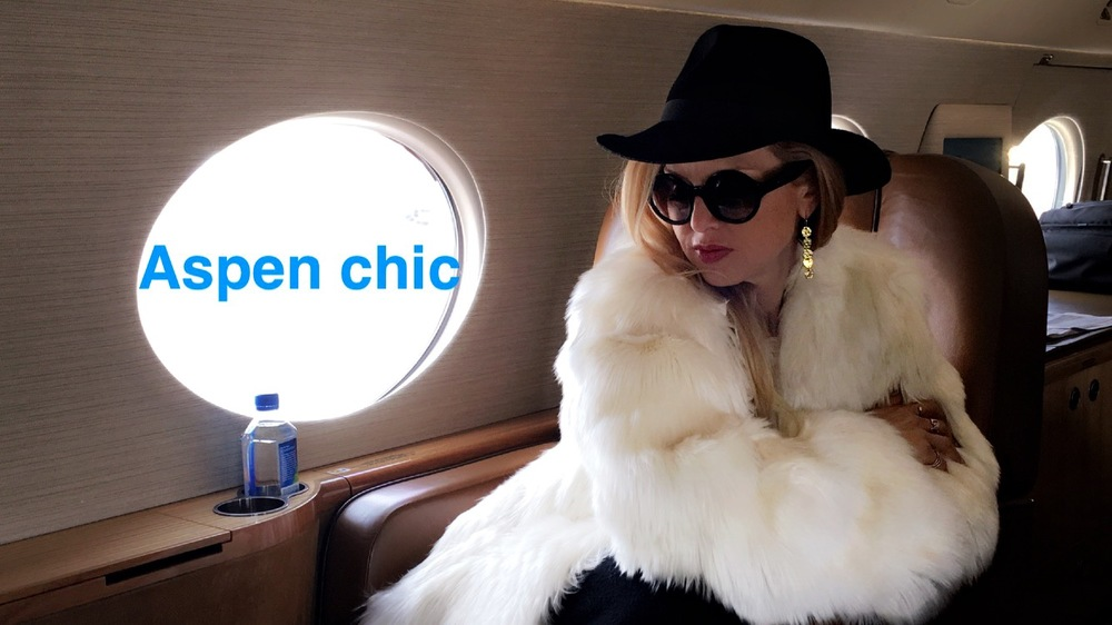 Rachel Zoe flying to Aspen
